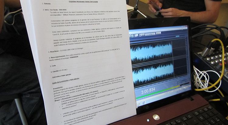 """Escaleta del programa """"Tardes Árticas"""" de Ión Radio"""