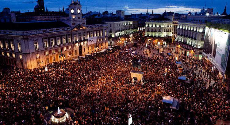 Puerta del Sol 17 de mayo de 2011 | Foto @soulseekers