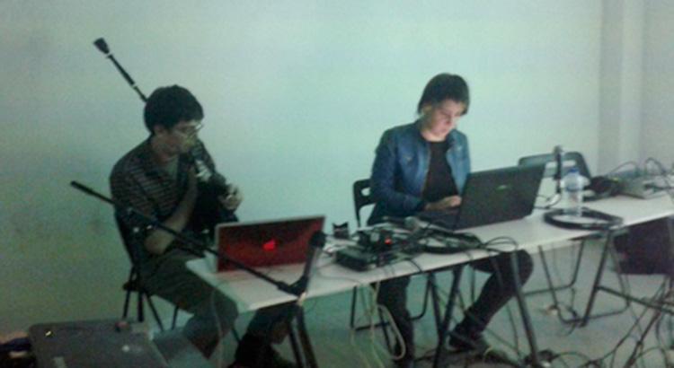 Sesión de Adtlántida.tv en InSonora | foto: @kamen