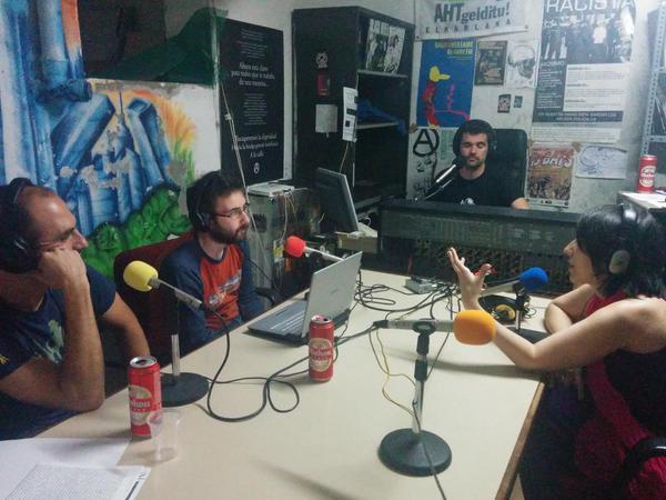 Radio Guerrilla en TecnoParanoids de Radio ELA